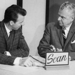 Mike Nolan interviewing Prime Minster John Diefenbaker