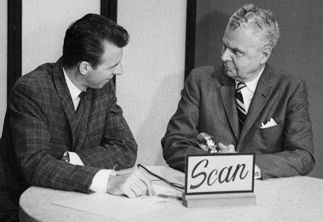 Mike Nolan interviewing Prime Minster John Diefenbaker