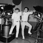 Don Patterson and Randy Maahs with the old GE cameras