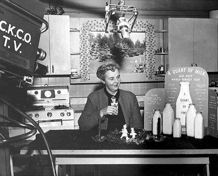 Mrs Scriver's Cooking show had huge daytime ratings
