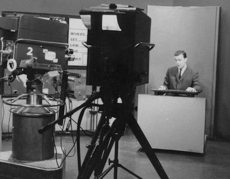 Peter Emmerson and the old GE Orthicon cameras