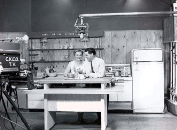 Reg Sellner co-hosted the Mrs Scriver Cooking Show
