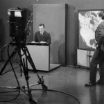 Terry Thomas doing Sports with Pete Emmerson who did the news looking on