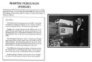 Ferguson, Martin - CAPsule article