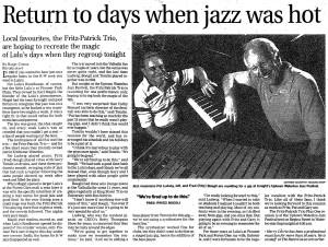 Fitz-Patrick Trio - Record July 12 2002