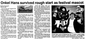 Ric Waurechen - Record Oct. 7 1991