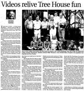 Tree House - Record Feb. 26 2002